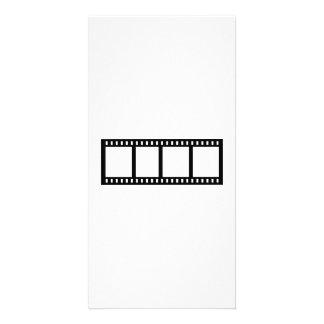 Film movie reel photo cards