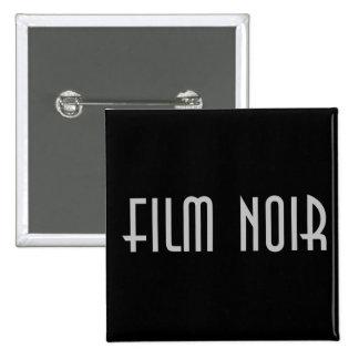 Film Noir 2 Inch Square Button