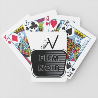 Film Noir Bicycle Playing Cards