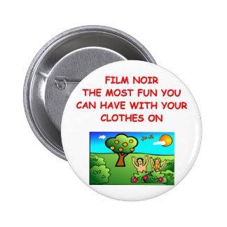 film noir pinback buttons