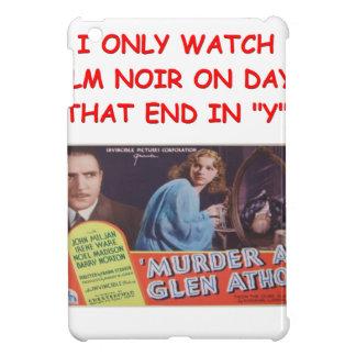 film noir cover for the iPad mini