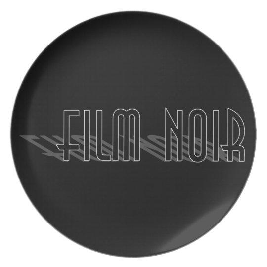 Film Noir (long shadow) Plate