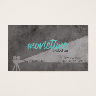 Film Production Company Business Card