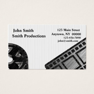 Film Reel Business Card