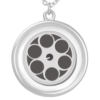 film reel fashion necklace