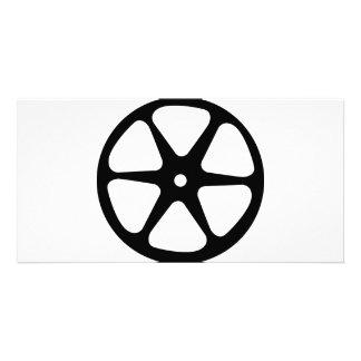film reel icon photo card