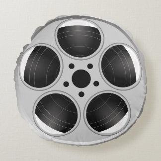 FILM REEL Round Throw Pillow Round Pillow