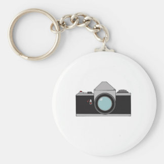 Film SLR Camera Keychain
