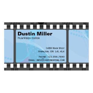 Film Strip - Blue Pack Of Standard Business Cards