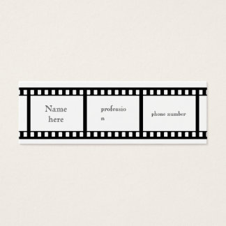 Film Strip business card