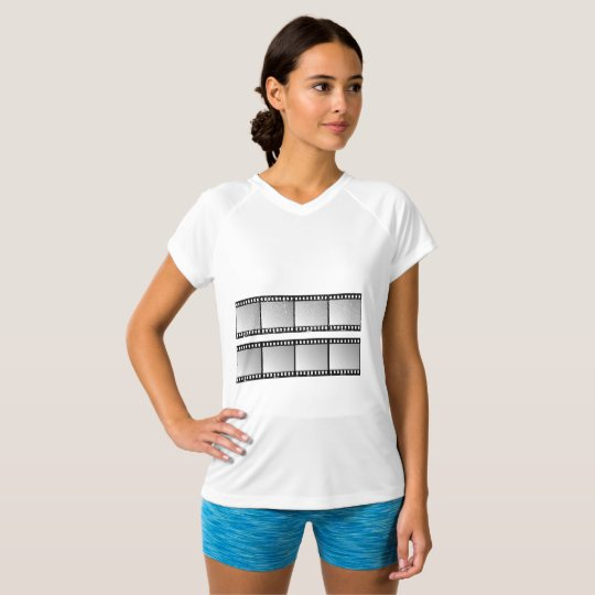 Film Strips Womens Active Tee