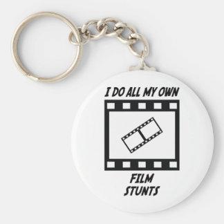 Film Stunts Keychain