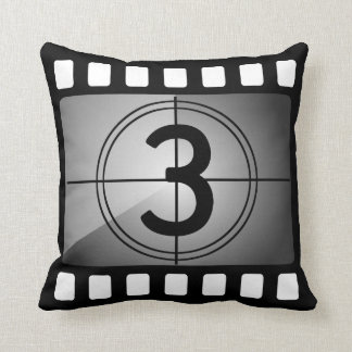 Film Throw Pillow