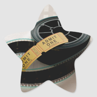 Film Time Star Sticker