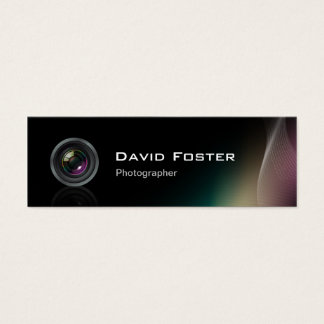 Film TV Freelance Photographer Cinematographer Mini Business Card