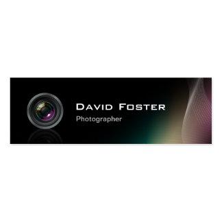 Film TV Freelance Photographer Cinematographer Pack Of Skinny Business Cards