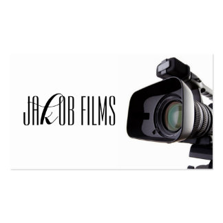 Film Video Camera Movie Director Filming Business Card Templates