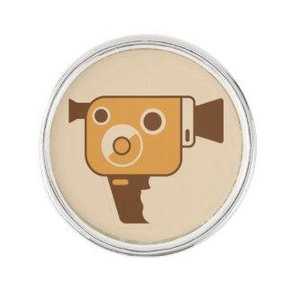 Filmmaker Movie Camera Lapel Pin