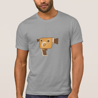 Filmmaker Movie Camera Personalized T-Shirt