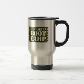 Filmmakers Boot Camp stainless travel mug