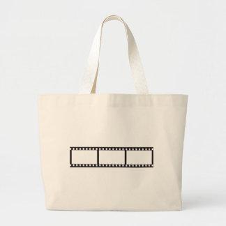 filmstrip large tote bag