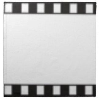 filmstrip napkin