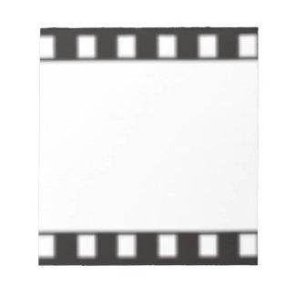filmstrip notepad