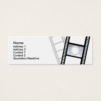 Filmstrip - Skinny Mini Business Card