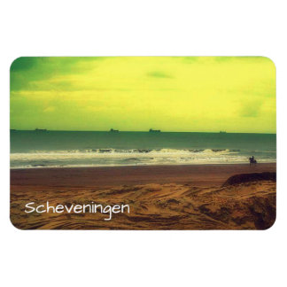 Filtered Scheveningen Beach And A Horse Magnet