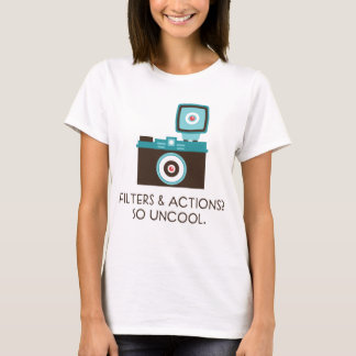 Filters & Actions? So Uncool. Toy Camera T-shirt