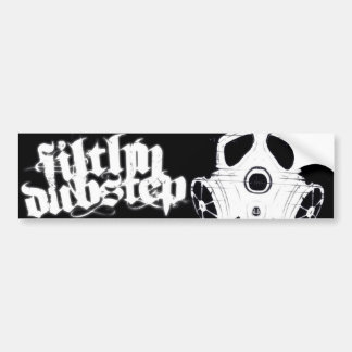 Filthy Dubstep Bumber Sticker 1 (Black)