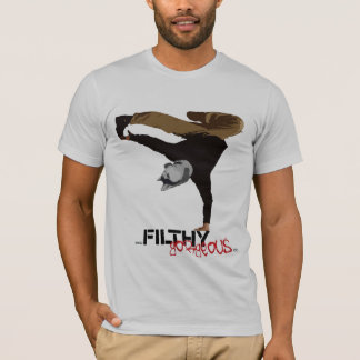Filthy Gorgeous Break Dancing Husky T-Shirt