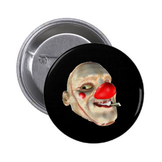 Filthy the Clown - face closeup 2 Inch Round Button