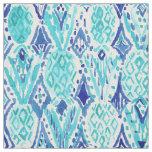 FINA PINA Tribal Ikat Pineapple Watercolor Fabric