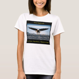 """Final Approach"" Bald Eagle T-Shirt"