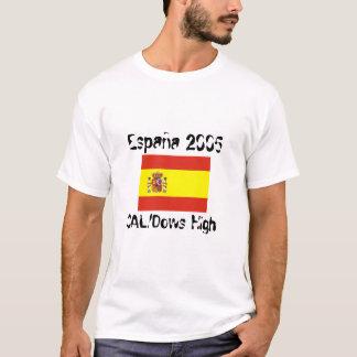 Final CAL/Dows Spain Trip 2005 T-Shirt