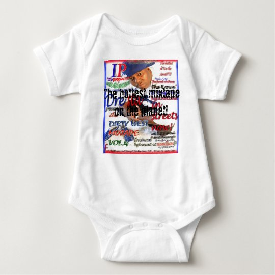 final cover, The hottest mixtape on the planet! Baby Bodysuit