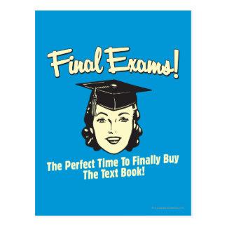 Final Exams: Finally Buy the Text Book Postcard