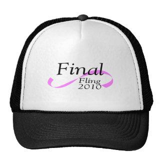 Final Fling 2010 Mesh Hat