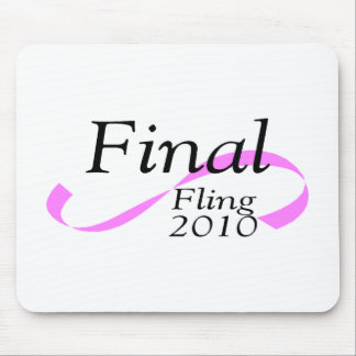 Final Fling 2010 Mouse Pad