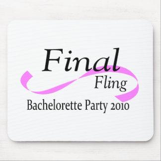 Final Fling Bachelorette Party 2010 Mouse Pad