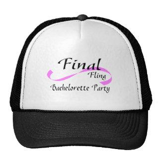 Final Fling Bachelorette Party Trucker Hat