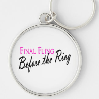 Final Fling Before The Ring Keychains