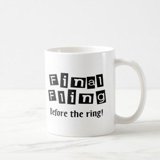 Final Fling Before The Ring Mugs