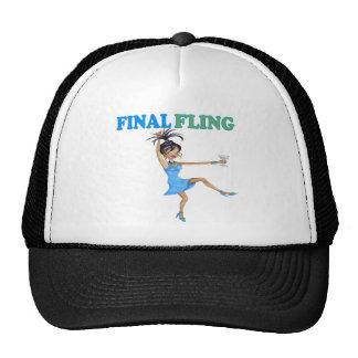 FINAL FLING MESH HAT
