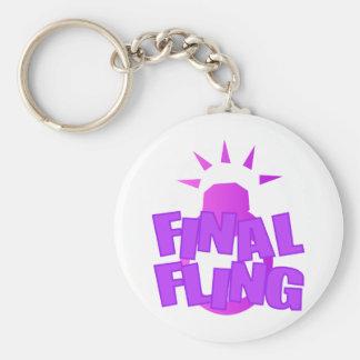 Final Fling Keychains