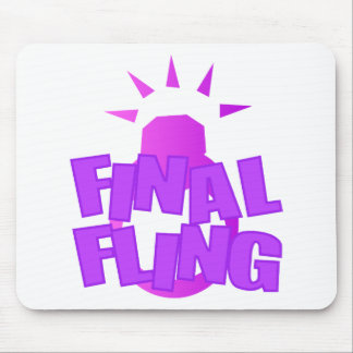Final Fling Mouse Pad
