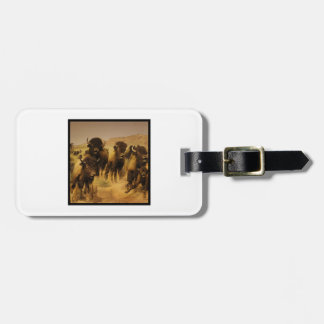 FINAL FRONTIER LUGGAGE TAG