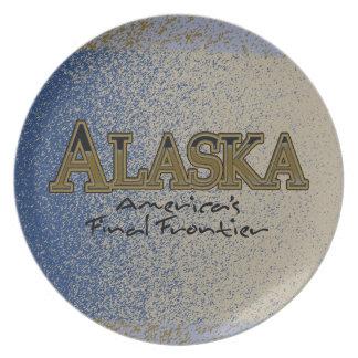 Final Frontier Melamine Plate