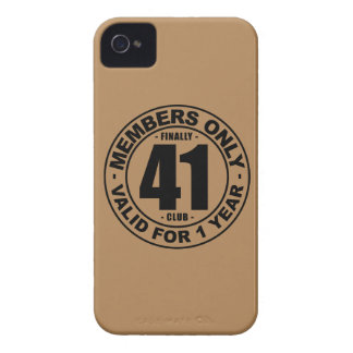 Finally 41 club Case-Mate iPhone 4 cases